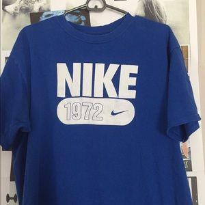Vintage Nike 1972 logo.